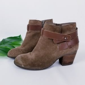 DV by Dolce Vita Jexen Raw Leather Booties
